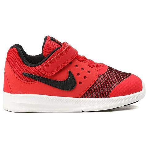 NIKE BOYS PRE-SCHOOL DOWNSHIFTER 7 KIDS SHOE RED/BLACK/WHITE