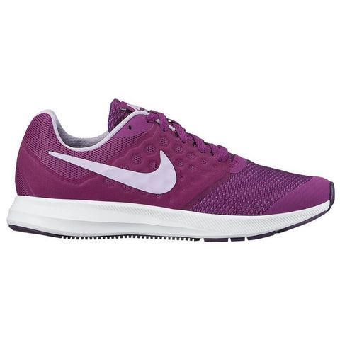 NIKE GIRLS GRADE SCHOOL DOWNSHIFTER 7 KIDS SHOE PURPLE/VIOLET/BERRY