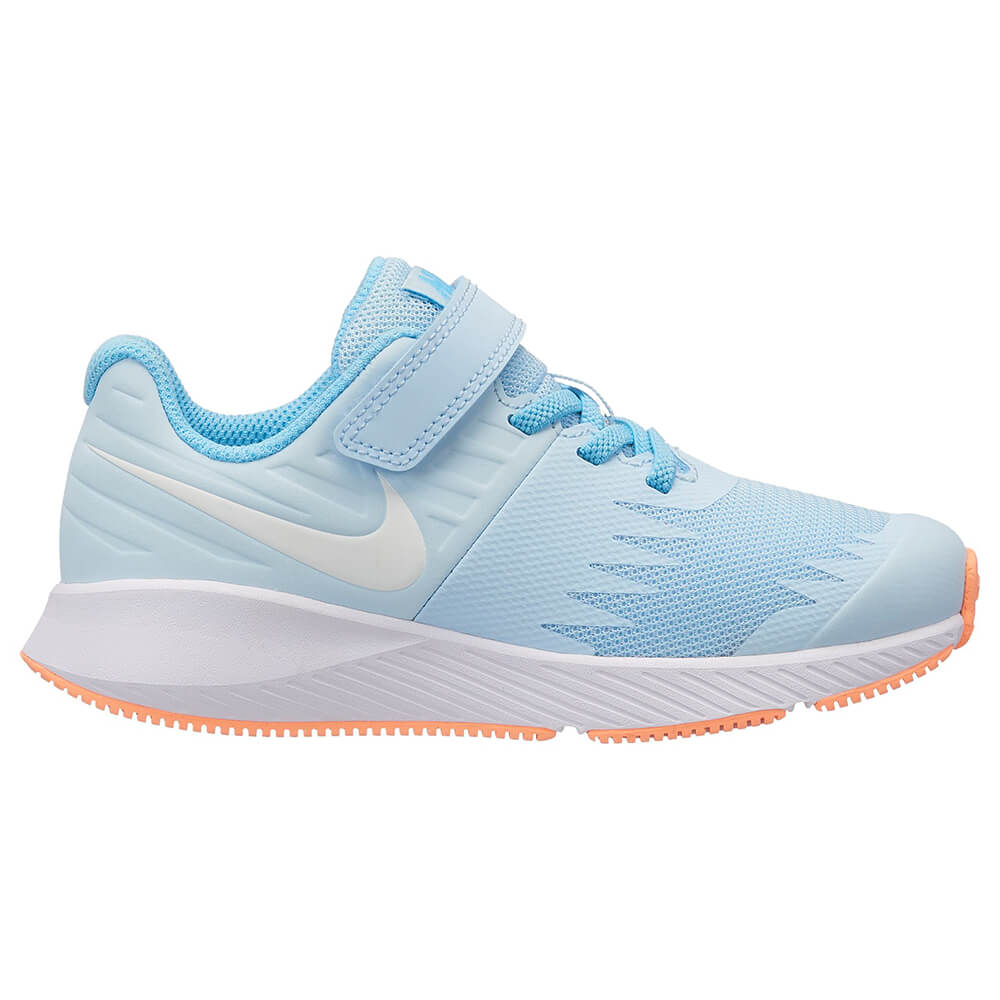 fd6bfbc63b36 NIKE GIRLS PRE-SCHOOL STAR RUNNER KIDS SHOE COBALT TINT WHITE BLUE ...