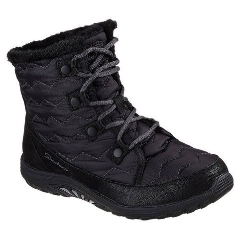 SKECHERS WOMEN'S REGGAE FEST - VECTOR BOOT BLACK
