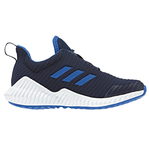 ADIDAS BOYS GRADE SCHOOL FORTARUN KIDS SHOE NAVY/BLUE/WHITE