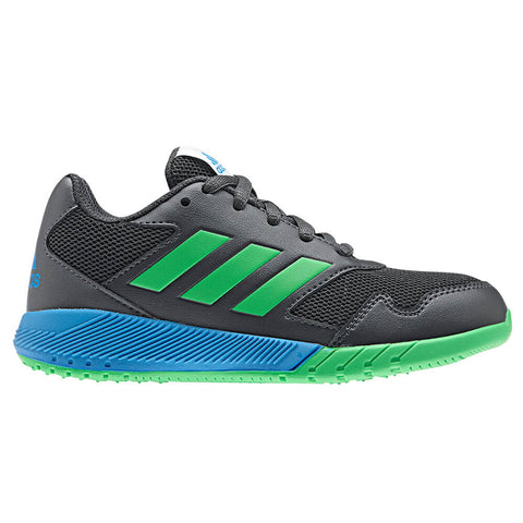 ADIDAS BOYS PRE-SCHOOL ALTARUN KIDS SHOE CARBON/GREEN/BLUE