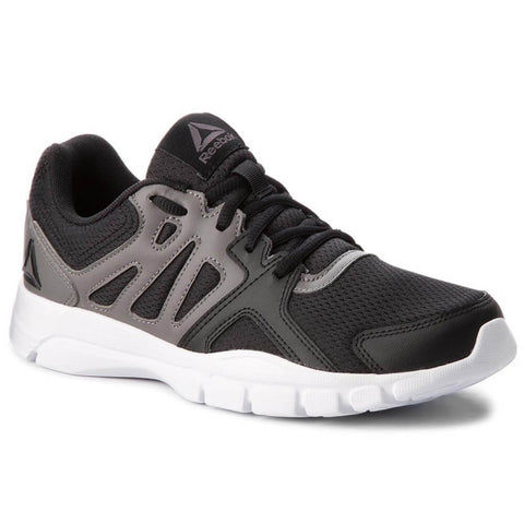 REEBOK MEN'S TRAINFUSION NINE 3.0 TRAINING SHOE BLACK/SHARK/WHITE