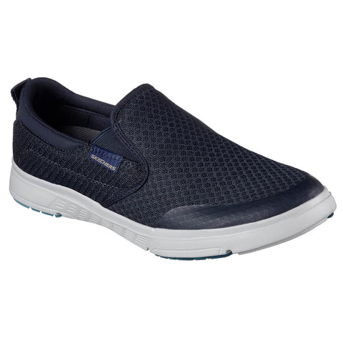 SKECHERS MEN'S MOOGEN - SENDER LEISURE SHOE NAVY