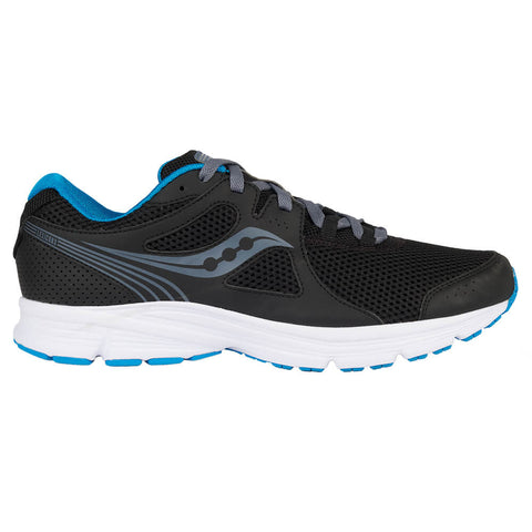 SAUCONY MEN'S LEXICON 3 RUNNING SHOE BLACK/BLUE