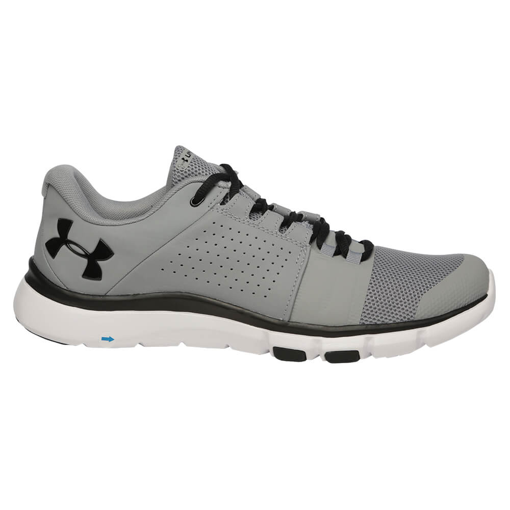 77e6271019ae UNDER ARMOUR MEN S STRIVE 7 NM TRAINING SHOE STEEL BLACK BLACK ...
