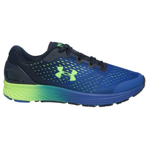 UNDER ARMOUR BOYS GRADE SCHOOL CHARGED BANDIT 4 KIDS SHOE ROYAL/ACADEMY/GREEN