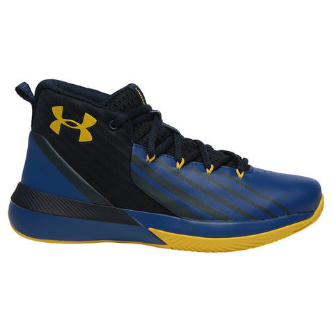 6642d4302b1e UNDER ARMOUR BOYS GRADE SCHOOL LOCKDOWN KIDS SHOE ACADEMY ROYAL TAXI