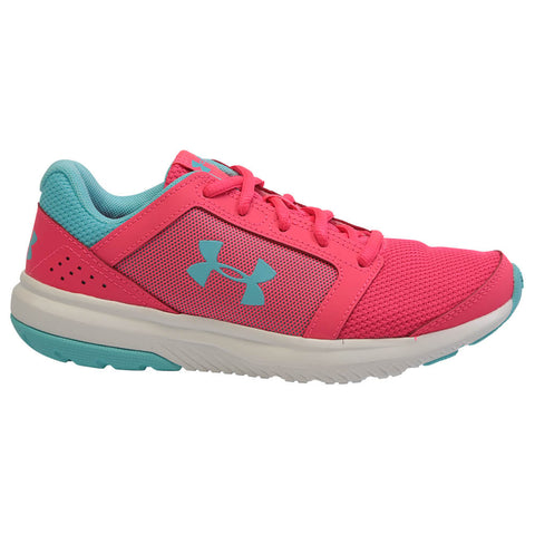 UNDER ARMOUR GIRLS GRADE SCHOOL UNLIMITED KIDS SHOE PINK/BLUE