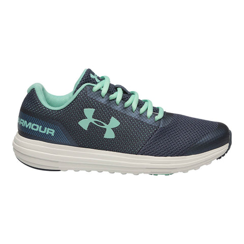 UNDER ARMOUR GIRLS GRADE SCHOOL SURGE RN KIDS SHOE BLUE/UTILITY BLUE/CRYSTAL