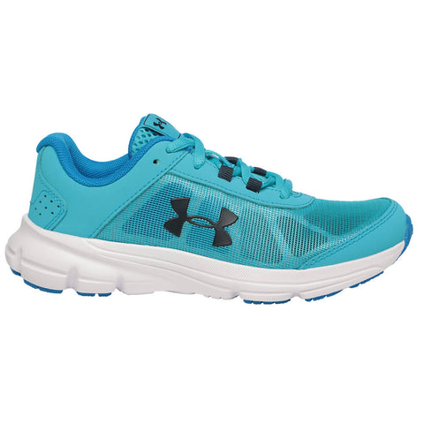UNDER ARMOUR GIRLS PRE-SCHOOL RAVE 2 KIDS SHOE ALPINE/BLUE CIRCUIT/ACADEMY