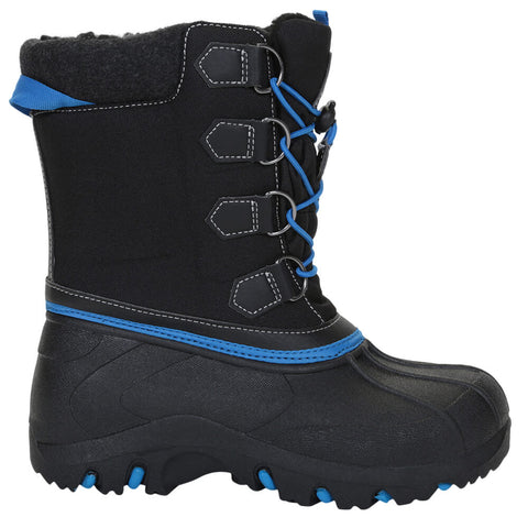 MCKINLEY BOYS POWDER WINTER BOOT BLACK/BLUE