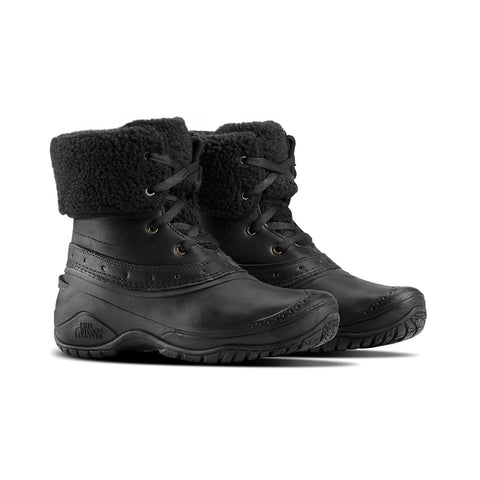 THE NORTH FACE WOMEN'S SHELLISTA ROLL DOWN WINTER BOOT BLACK/BLACK