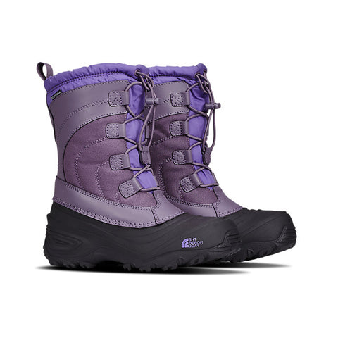THE NORTH FACE GIRLS ALPENGLOW IV WINTER BOOT PURPLE SAGE/DAHLIA PURPLE