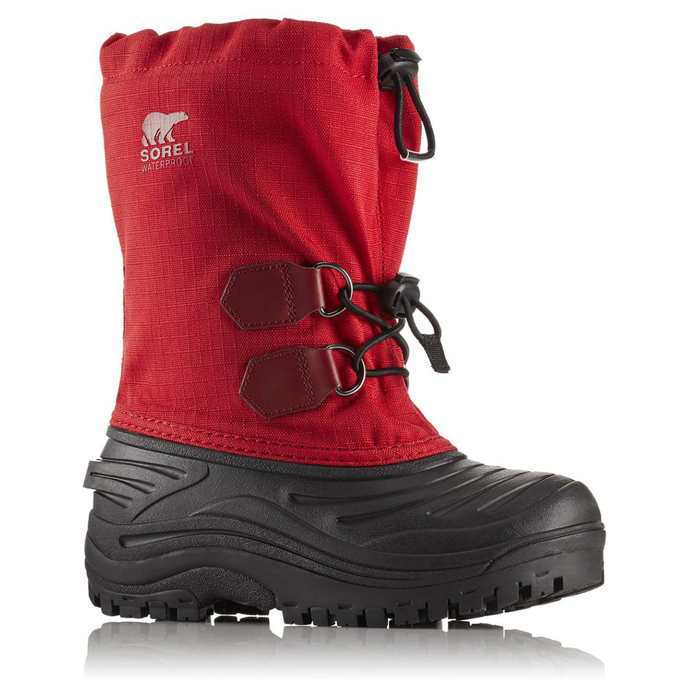 eeb83b1a59e7 SOREL BOYS SUPER TROOPER WINTER BOOT BRIGHT RED RED ELEMENT ...