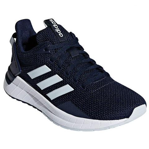 ADIDAS WOMEN'S QUESTAR RIDE RUNNING SHOE NAVY/BLUE/WHITE