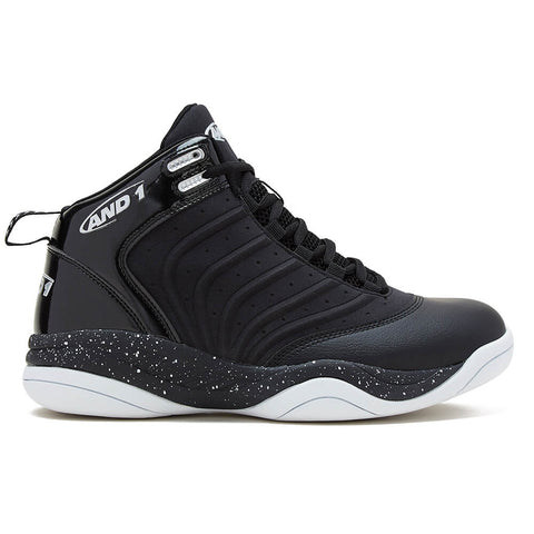 AND 1 MEN'S DRIVE BASKETBALL SHOE BLACK/WHITE
