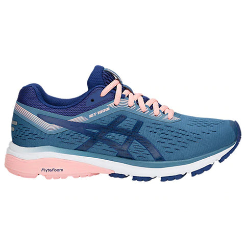 ASICS WOMEN'S GT 1000 7 RUNNING SHOE AZURE/BLUE PRINT