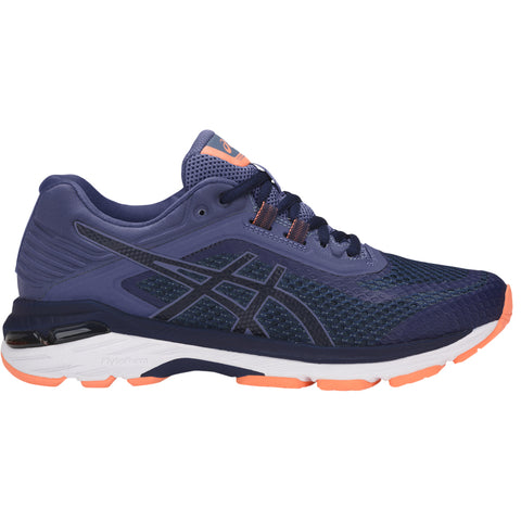 ASICS WOMEN'S GT 2000 6 RUNNING SHOE INDIGO BLUE/SMOKE BLUE