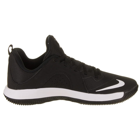 NIKE MEN'S FLY. BY LOW BASKETBALL SHOE BLACK/WHITE