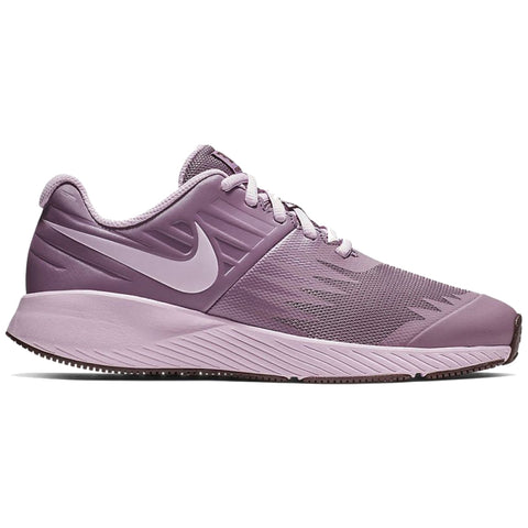 3dde3a9ae13f NIKE GIRLS GRADE SCHOOL STAR RUNNER KIDS SHOE VIOLET DUST ARCTIC PINK