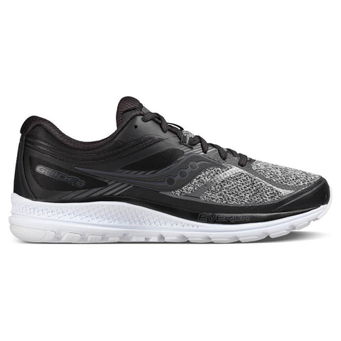 SAUCONY MEN'S GUIDE 10 LR RUNNING SHOE MARL/BLACK