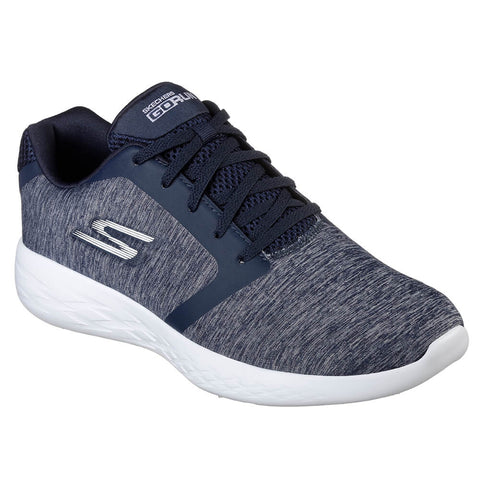 SKECHERS MEN'S GO RUN 600 - DIVERT RUNNING SHOE NAVY