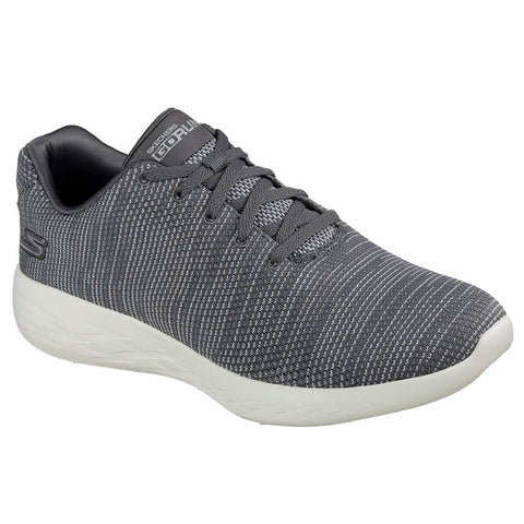 SKECHERS MEN'S GO RUN 600 - OBTAIN RUNNING SHOE CHARCOAL