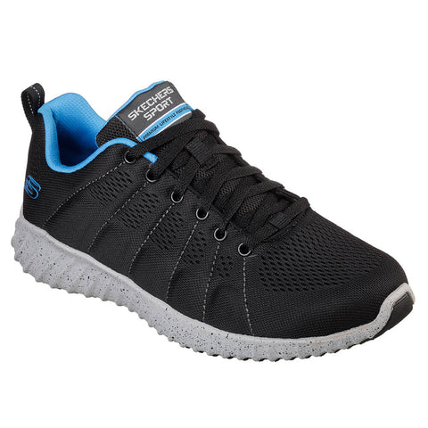 SKECHERS MEN'S SKECH-ASCENT - SHERROD TRAINING SHOE BLACK/BLUE