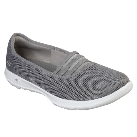 SKECHERS WOMEN'S GO WALK LITE WALKING SHOE GREY