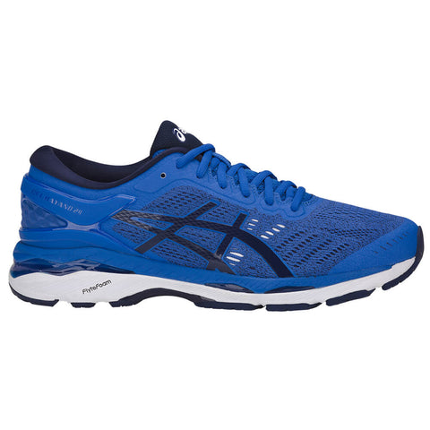 ASICS MEN'S GEL KAYANO 24 RUNNING SHOE BLUE/INDIGO BLUE/WHITE