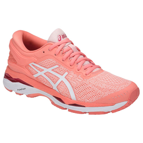 ASICS WOMEN'S GEL KAYANO 24 RUNNING SHOE SEASHELL PINK/WHITE/PINK