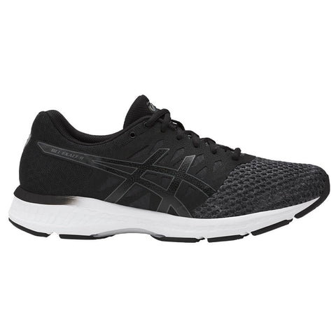 ASICS MEN'S GEL EXALT 4 RUNNING SHOE DARK GREY/BLACK/WHITE