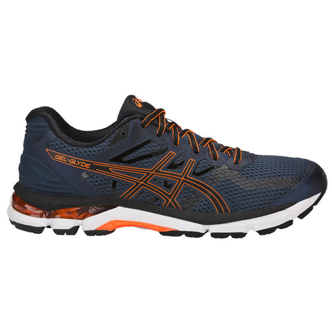 ASICS MEN'S GEL GLYDE RUNNING SHOE DARK BLUE/BLACK/ORANGE