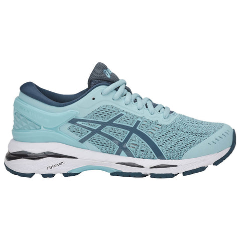 ASICS GIRLS GRADE SCHOOL GEL KAYANO 24 KIDS SHOE BLUE/SMOKE BLUE/WHITE