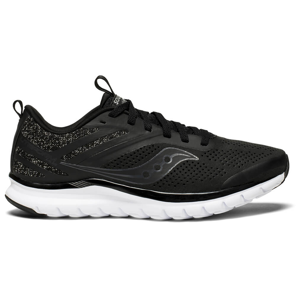 427c019b35 SAUCONY WOMEN'S LITEFORM MILES RUNNING SHOE BLACK