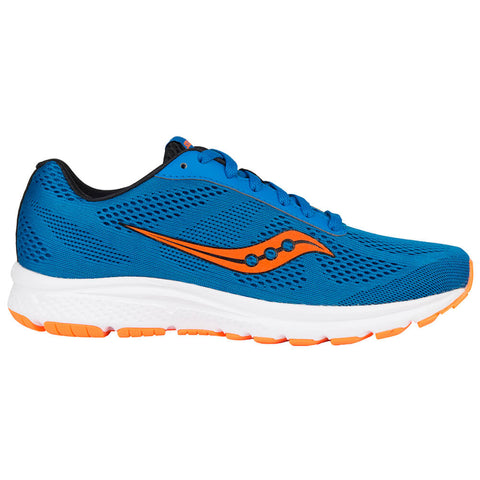 SAUCONY MEN'S IGNITE RUNNING SHOE BLUE/ORANGE