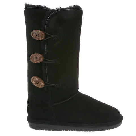 BEARPAW WOMEN'S LAUREN BOOTS BLACK II