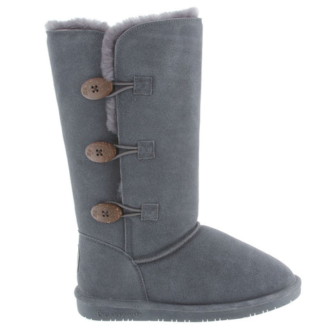 BEARPAW WOMEN'S LAUREN BOOTS CHARCOAL
