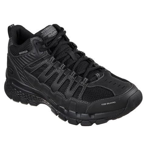 SKECHERS MEN'S OUTLAND 2.0 - GIRVIN BOOTS BLACK