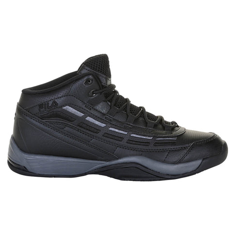 FILA MEN'S SPITFIRE BASKETBALL SHOE BLACK/BLACK/CHARCOAL
