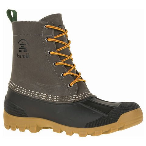 KAMIK MEN'S YUKON 6 BOOTS CHARCOAL
