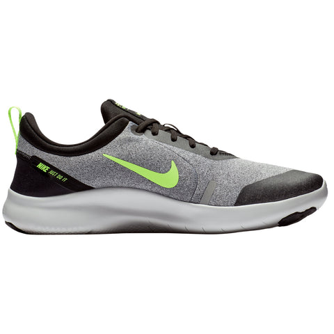 9d5c1f8c52f NIKE MEN S FLEX EXPERIENCE RN 8 RUNNING SHOE COOL GREY LIME BLACK
