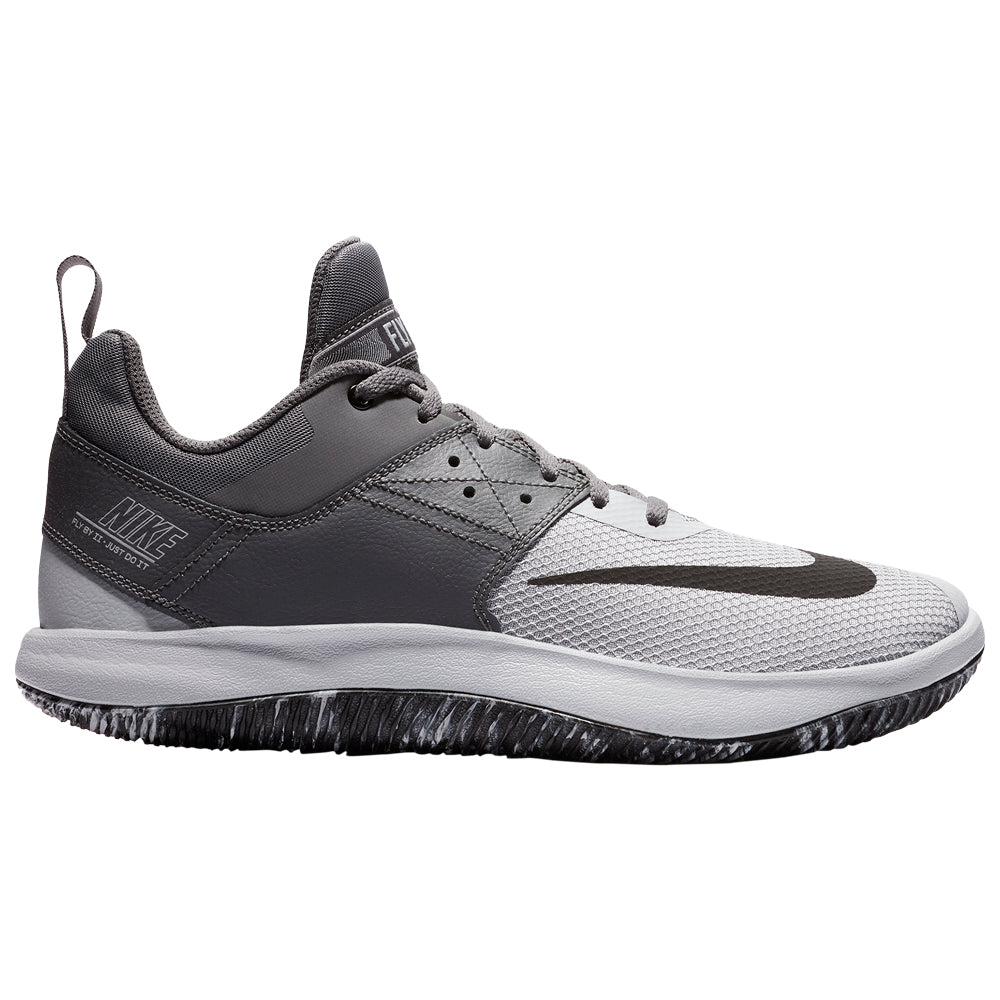 5add72af6794 NIKE MEN'S FLY BY LOW II BASKETBALL SHOE GUNSMOKE/BLACK/GREY
