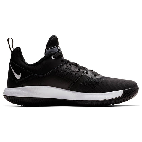 competitive price 2878c f9e77 NIKE MEN S FLY BY LOW II BASKETBALL SHOE BLACK BLACK WHITE ...