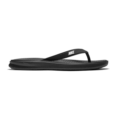 NIKE MEN'S SOLAY THONG BLACK/WHITE/BLACK