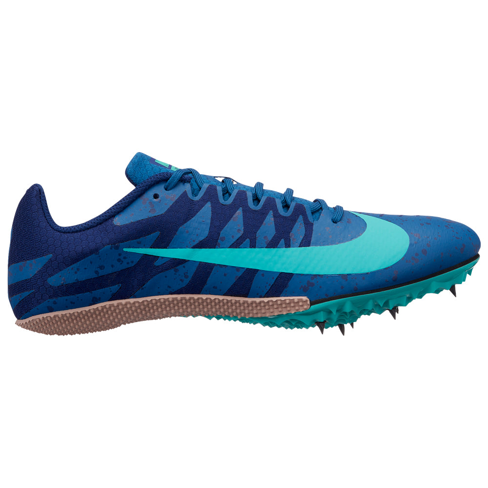 best sneakers a6650 8f79f NIKE ZOOM RIVAL S9 UNISEX TRACK SPIKES BLUE FORCE/JADE/BLUE VOID