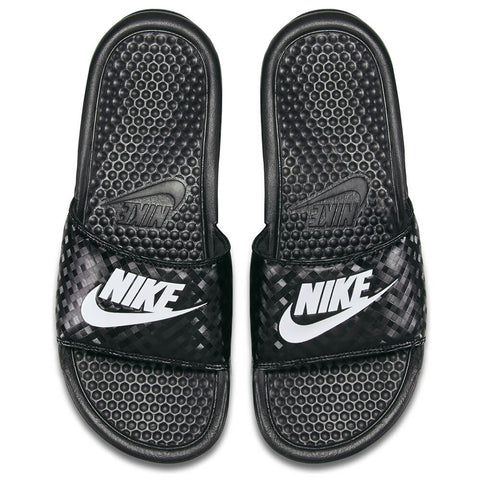 NIKE WOMEN'S BENASSI JDI SLIDE BLACK/WHITE