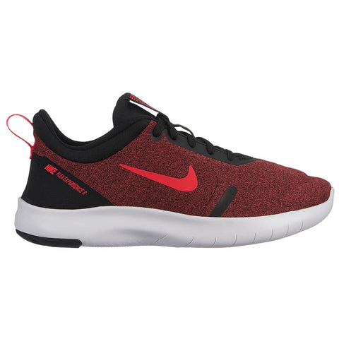 NIKE BOYS GRADE SCHOOL FLEX EXPERIENCE RN 8 KIDS SHOE BLACK/RED/UNIVERSITY RED