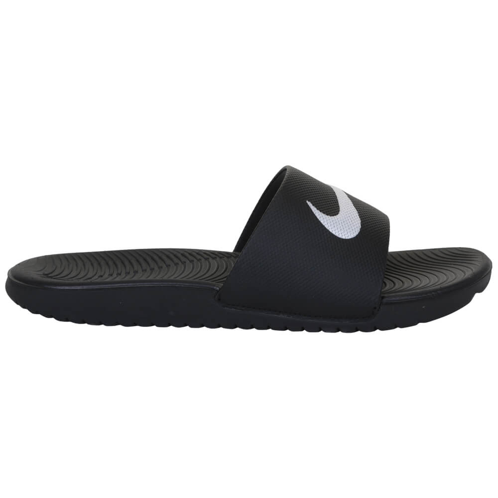 210780457 NIKE KIDS KAWA SHOWER SLIDE BLACK WHITE – National Sports
